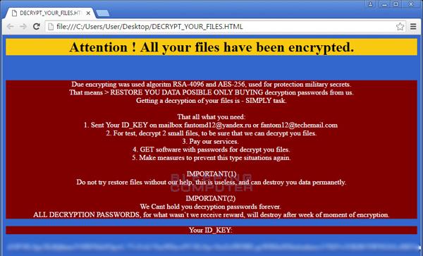 Disponibile il decryptor per il ransomware Dharma con estensione .wallet